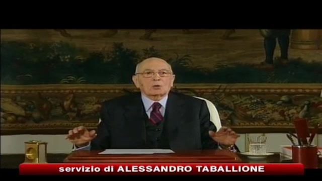 Napolitano: futuro dei giovani è futuro dell'Italia
