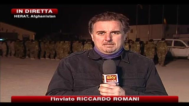 L'ultimo saluto dei militari in Afghanistan a Matteo Miotto