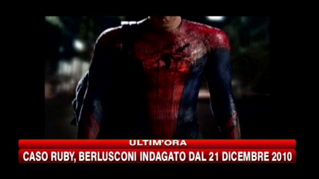 Ecco la prima immagine del nuovo Spiderman interpretato da Andrew Garfield