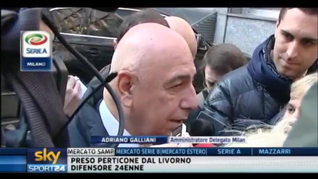 Galliani: L'Inter si è rinforzata ma non ci fa paura