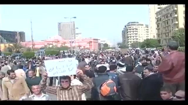 Egitto: da tutto il Paese in piazza contro Mubarak
