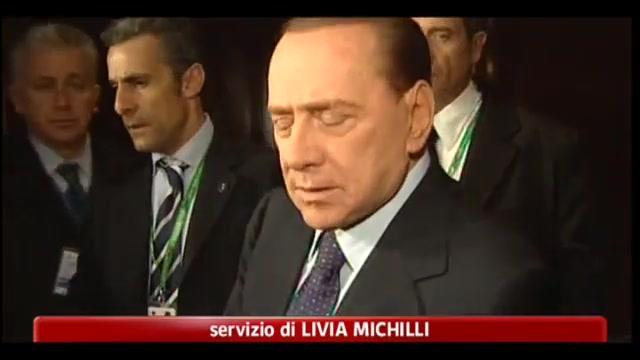 Libia, Berlusconi: cautela sull'esilio di Gheddafi