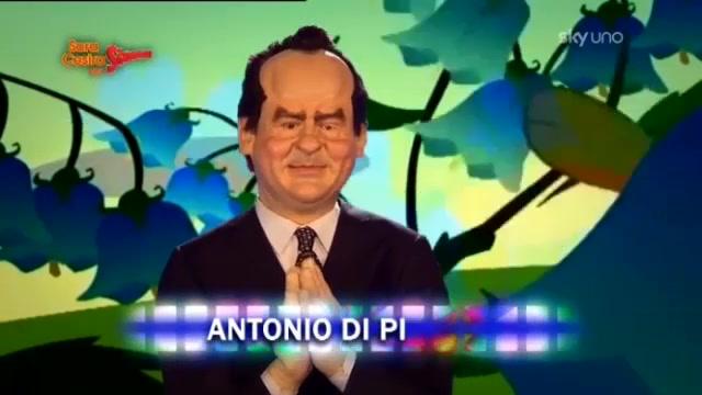 Gli Sgommati - Antonio Di Pietro canta Che Casina