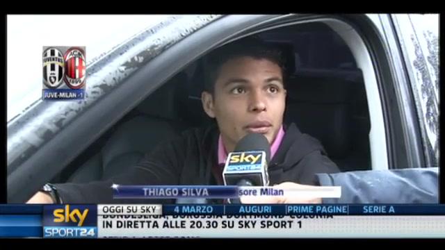 Juventus-Milan, parla Thiago Silva
