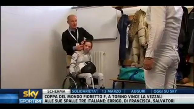 Scherma paralimpica, Ciro Ferrara e Bebe Vio