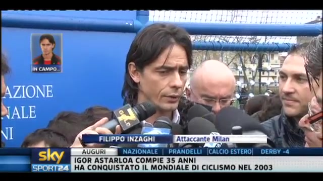 Derby, Inzaghi: una vittoria ci spianerebbe la strada