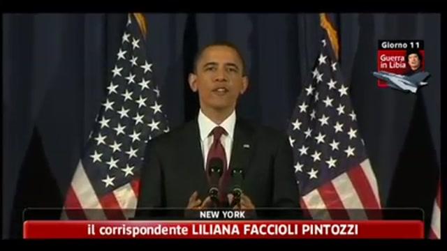 Libia, Obama: se non fossimo intervenuti avremmo tradito noi stessi