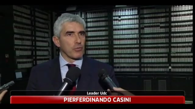 Libia, Casini: pessimo segnale di esclusione Italia dai quattro