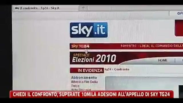 Chiedi il confronto, superate 10mila adesioni all'appello di Sky Tg24