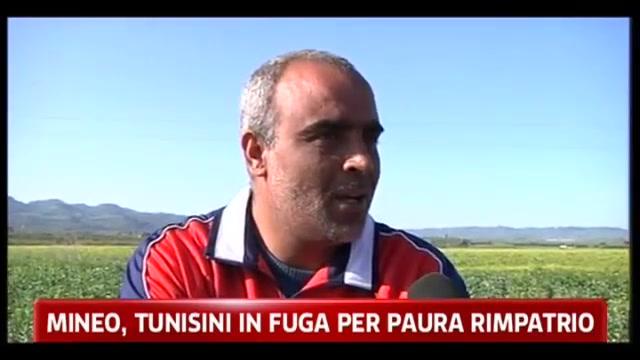 Mineo, tunisini in fuga per paura rimpatrio