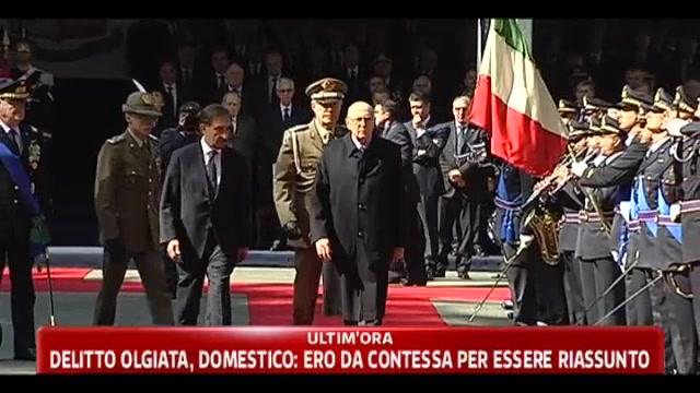 Napolitano convoca i capigruppo parlamentari