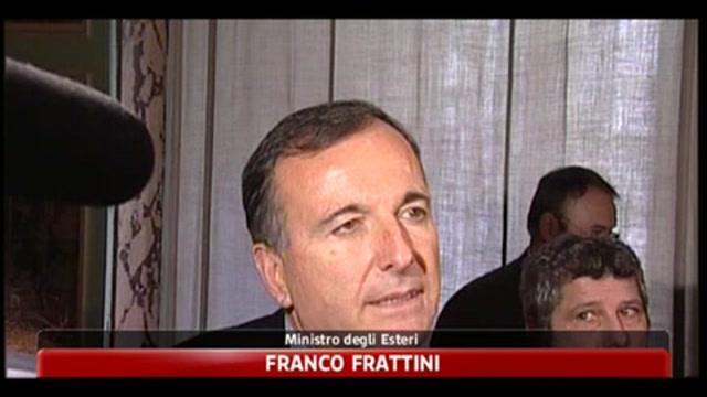 Frattini a SkyTG24: l'Italia non è isolata in Europa