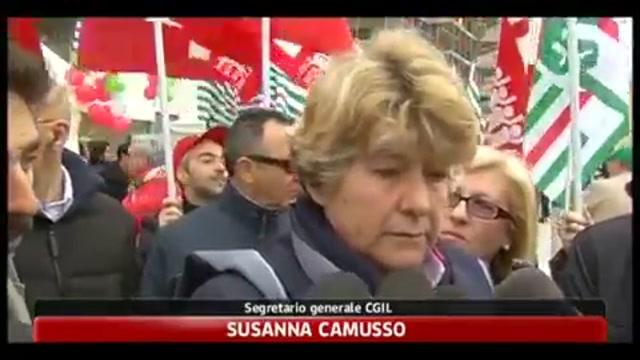 1 maggio; Camusso, Bonanni e Angeletti