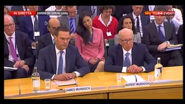 1 - Audizione Murdoch, James: dispiaciuto per vittime intercettazioni