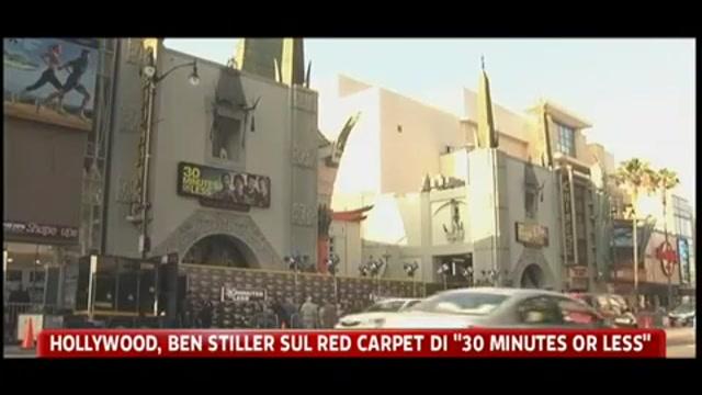 Hollywood, Ben Stiller sul red carpet di 30 minutes or less
