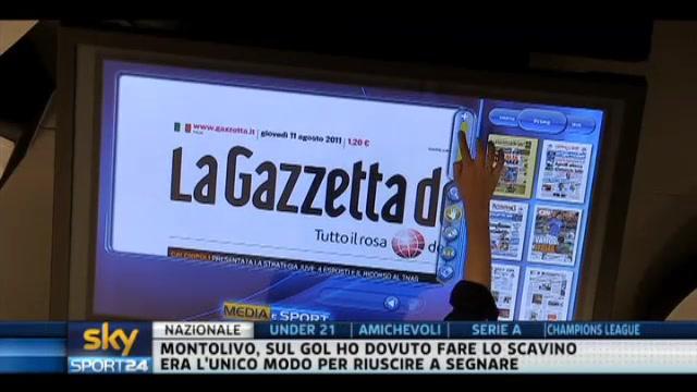 I giornali di giovedì 11 agosto 2011