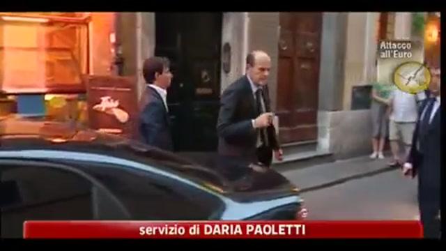 Crisi, Bersani: governo totalmente deludente