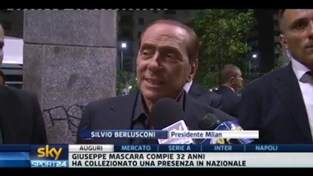 Berlusconi sul mercato del Milan