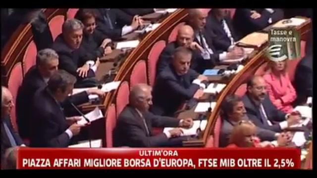 Manovra, Berlusconi: ho fatto quel che dovevo, ora tocca al Parlamento