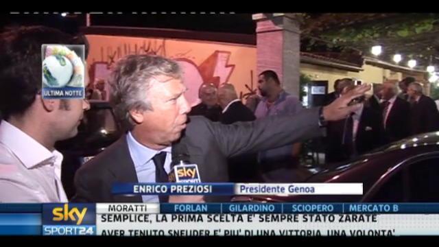 Calciomercato, Genoa: parla Preziosi