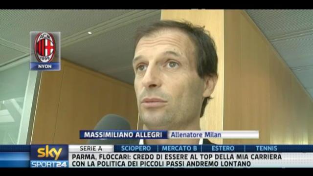 Milan, Allegri: è arrivato Mister x e Mister y
