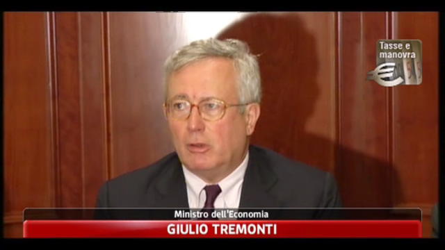 Manovra, Tremonti: saldi assolutamente invariati