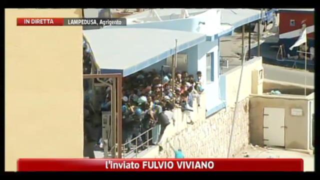 Scontri Lampedusa, il racconto dell'inviato di SkyTg24