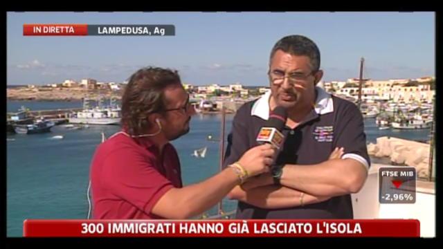 Emergenza immigrati Lampedusa, sindaco De Rubeis