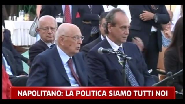 Napolitano: occorre cambiare legge elettorale