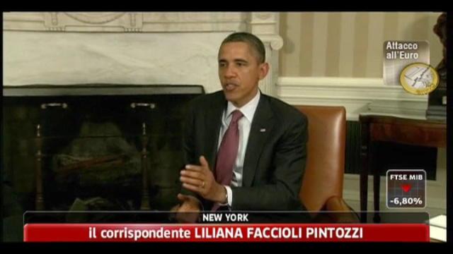 Crisi, USA a Europa: approfondire accordo e agire in fretta