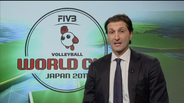 World Cup, l'Italvolley per l'ex azzurro Pasquale Gravina