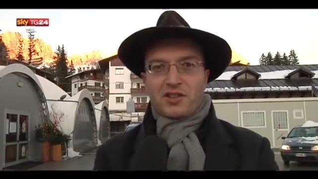 Verifiche fiscali Capodanno,la protesta di Cortina D'Ampezzo