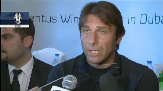 """Conte carica la Juve: """"Proveremo a battere il Milan"""""""