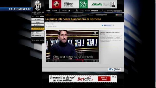"""Borriello assicura: """"Mai rifiutata la Juve"""""""