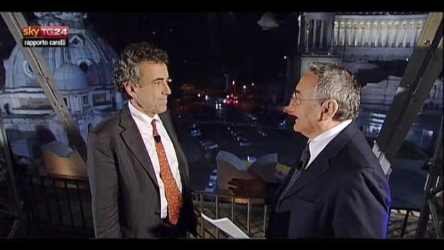 Rapporto Carelli, anticipazione del 01.02.2012