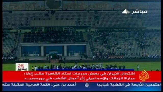 Egitto, scontri allo stadio di Port Said: oltre 70 morti