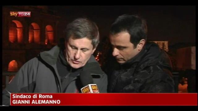 Roma nel caos per la neve, polemiche sulle previsioni