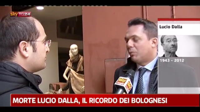 Lucio Dalla, il ricordo dei bolognesi