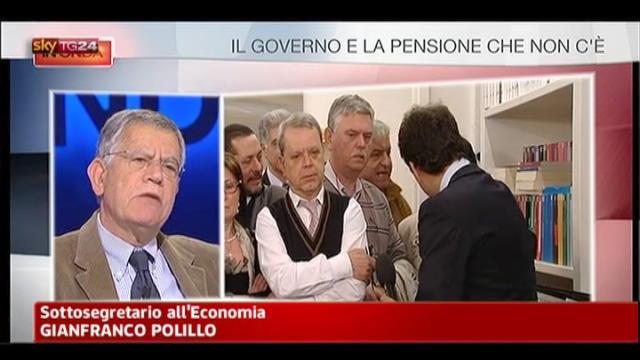 Esodati, Polillo: accordi aziendali possono essere nulli