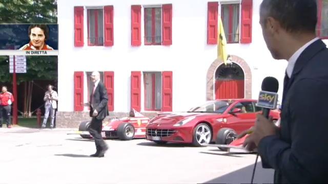 Ferrari, a Fiorano la F1 di Villeneuve