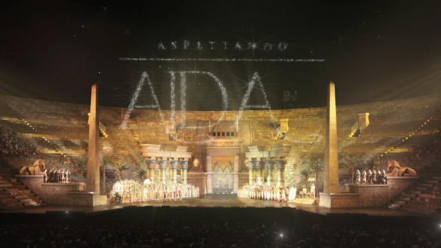 Dall'Arena di Verona l'Aida in 3D