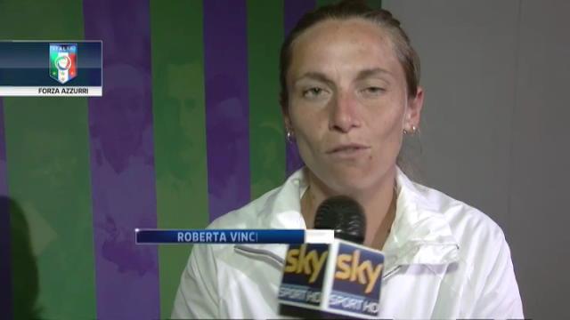 """Da Wimbledon: """"Forza Azzurri"""""""