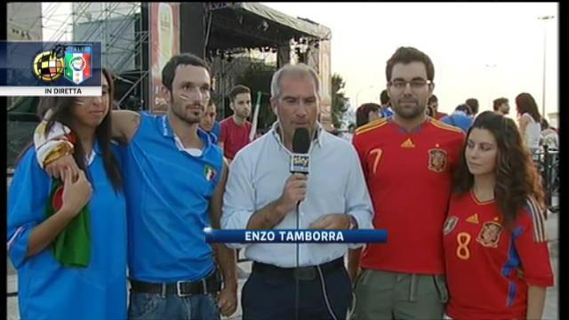Euro 2012, i tifosi sul lungomare a Bari