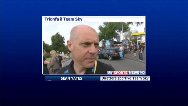 Tour de France, il Team Sky è super
