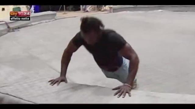 Lost & Found, ballerino di strada keniota nel circo russo