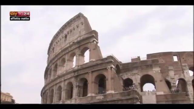 Lost & Found, Roma:svelato progetto di restauro del Colosseo