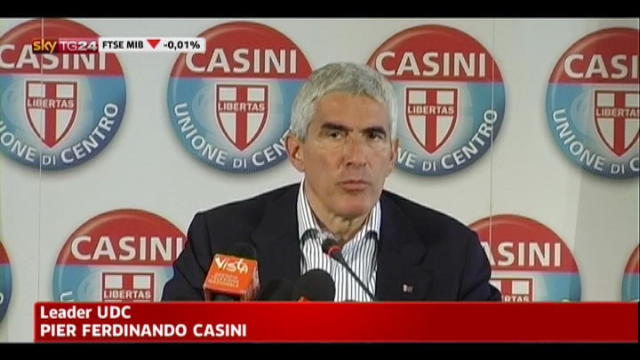 Legge elettorale, Casini: serve responsabilità