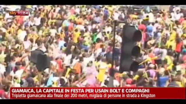 Giamaica, la capitale in festa per Usain Bolt e compagni