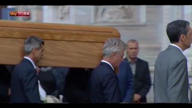 L'arrivo in Duomo della salma del Cardinale Martini
