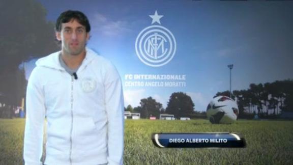 Derby Milan-Inter, intervista a Milito